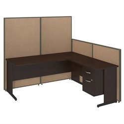ProPanel C Leg L Workstation 2 Drawer