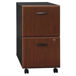 Bush BBF Series A 2Dwr Mobile Pedestal in Hansen Cherry