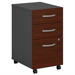 Bush Business Furniture Series C Pedestal (Assembled) in Hansen Cherry
