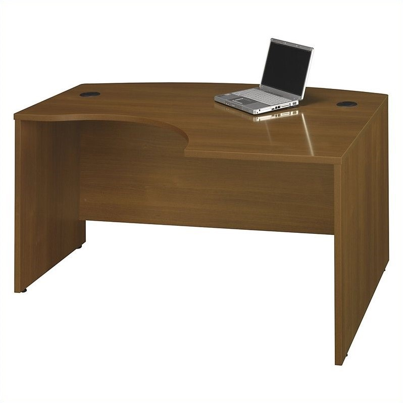 Bush Business Furniture Series C RH Corner Computer Desk in Warm Oak