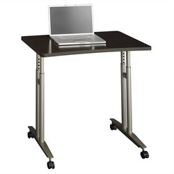 Bush Business Furniture Series C Mocha Cherry Adjustable Height Table
