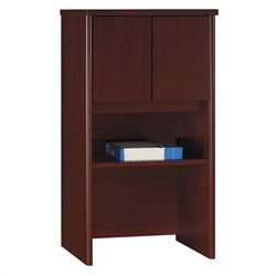 Bush Business Furniture Series C 24W Hutch in Mahogany
