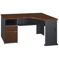 Bush BBF Series A Hansen Cherry Corner Desk