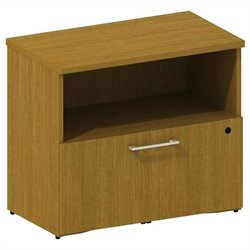 Bush BBF 300 Series 1-Drawer Lateral File in Modern Cherry