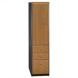 Bush Business Furniture Series A Locker (Assembled) in Natural Cherry