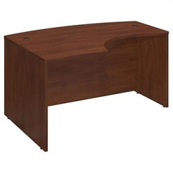 Bush BBF Series C 60Wx43D Left Hand L-Bow Desk Shell in Hansen Cherry