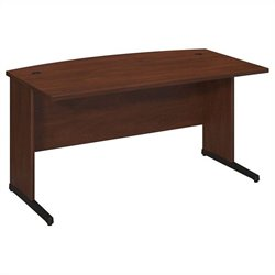 BBF Series C Elite 60W x 36D C-Leg Bow Front Desk