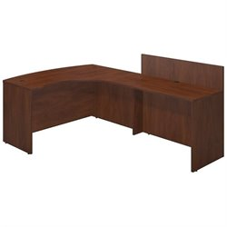 Series C Elite 60W x 43D Right Hand Bowfront Desk Shell with 48W Privacy Return