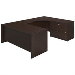 Series C Elite 72W x 30D Right Hand U Station Desk Shell with Lateral File