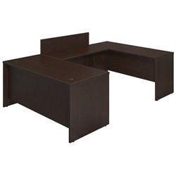 Series C Elite 66W x 30D U Station Desk Shell with Privacy Bridge