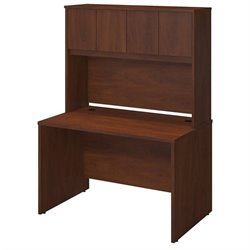 Series C Elite 48W x 30D Desk Shell with Hutch
