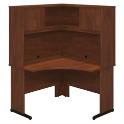 Series C Elite 48W x 48D C Leg Corner Desk with Hutch