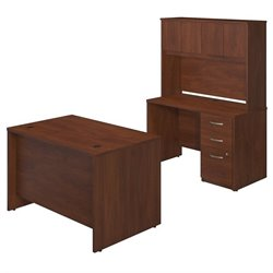 Series C Elite 48W x 30D Desk Shell with Credenza and Storage