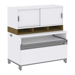 Momentum Filing Cabinet with Hutch I