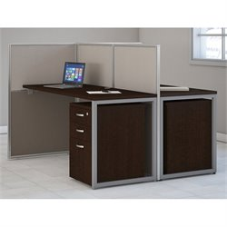 Bush Business Furniture Easy Office Computer Desk for 2
