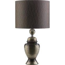 Surya Caldwell Ceramic Table Lamp in Gold