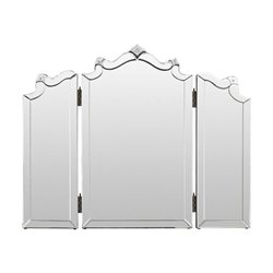 Surya Louisa Wall Mirror in Clear