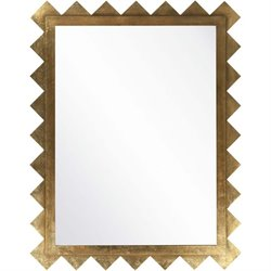 Surya Wall Mirror in Brilliant Gold