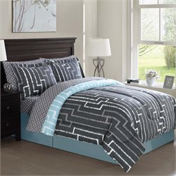 Brandenburg Geo 8 Piece Bedding Ensemble Set