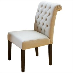 Trent Home Stanley Dining Chairs in Ivory (Set of 2)