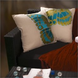 Trent Home Cincinatti Pillows (Set of 2)