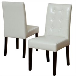 Trent Home Bakers Dining Chairs in Ivory (Set of 2)