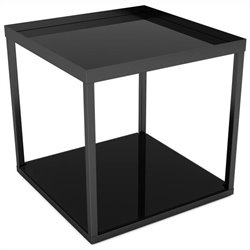 Modular Side Table in Black