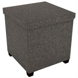 Storage Ottoman in Brown