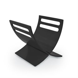 Bentwood Magazine Cradle in Black