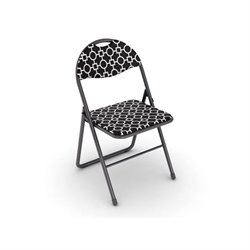 Classic Folding Chair in Park Place Black