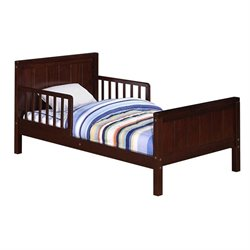 Toddler Bed in Espresso