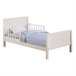 Toddler Bed in White