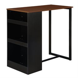 3 Piece Counter Height Pub Set in Black