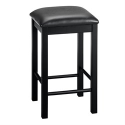 Devyn 3 Piece Faux Marble Top Pub Set in Black