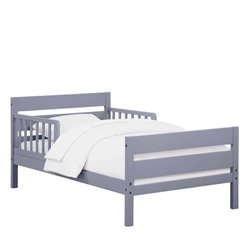 Toddler Bed in Gray