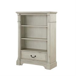 MonBebe Everett Bookcase in Antique Gray