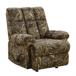 Camouflaged Rocker Recliner