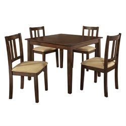 5 Piece Dining Set in Espresso