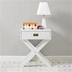 Nightstand in Classic White