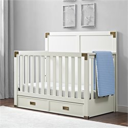 MonBebe Wyatt 4 in 1 Convertible Crib