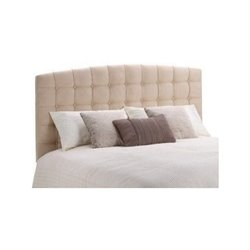 Queen or Full Torino Tufted Panel Headboard in Beige