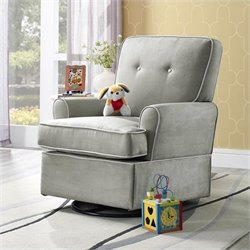 Swivel Glider in Gray
