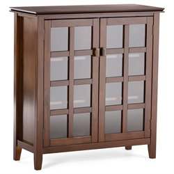 Storage Cabinet in Auburn Brown