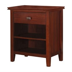 Nightstand in Auburn Brown
