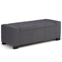 Storage Bench in Gray