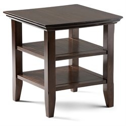 End Table in Tobacco Brown