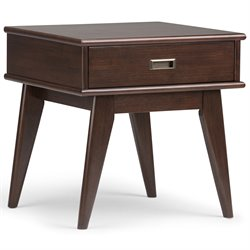 End Table in Auburn Brown