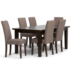 7 Piece Dining Set in Mocha