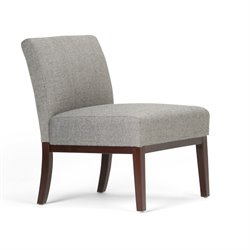 Accent Chair in Slate Gray