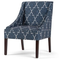 Accent Chair in Cobalt Blue